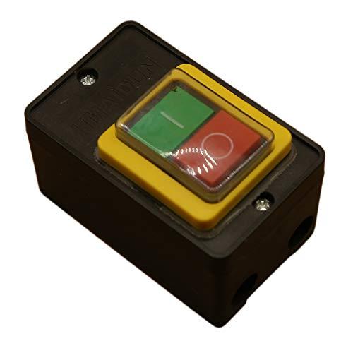 Baoblaze Interruptor de Botón de Encendido/Apagado a Prueba de Agua de 1 Pieza para Máquina Herramienta para Picar Carne