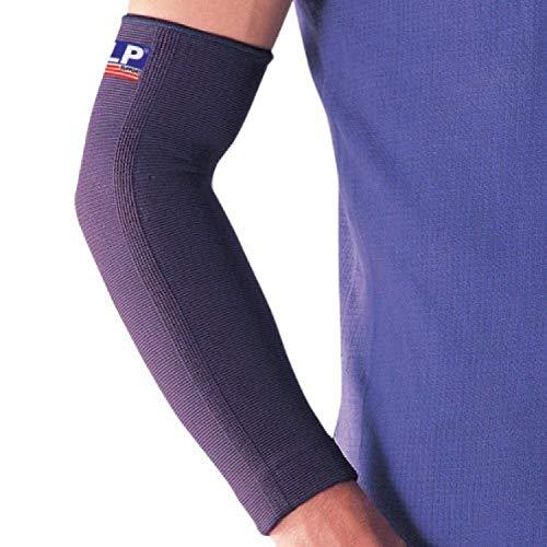 LP SUPPORT 668 Ellenbogen-/ Unterarmbandage - Arm-Sleeve - Sportsleeve, Größe:M, Farbe:schwarz