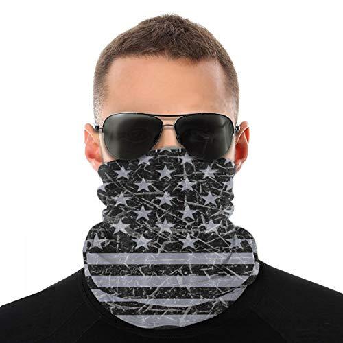 Oso polar de invierno para hombres y mujeres, deportes al aire libre, resistente al viento, transpirable, variedad de toallas de cara, color Bandera de Estados Unidos para motocross, tamaño talla única