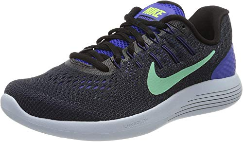 Nike Wmns Lunarglide 8, Scarpe Running Donna, Viola (Persian Violet/Black/Dark Purple Dust/Green Glow), 38 EU