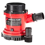 Johnson Pump 189-1600400 Heavy Duty Bomba achique, 6067 l/h, 12v