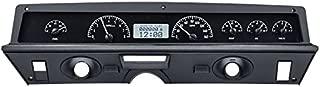 Dakota Digital 71 -76 Chevy Impala / Caprice Analog Dash System Kit Black Alloy White VHX-71C-CAP-K-W