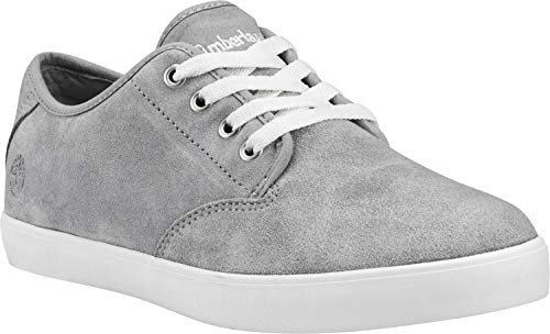 Timberland Dausette Damen Sneaker Freizeitschuh Sommerschuh Lederschuh Sportschuh Grau TB0A2AEZ Grau (Sleet) 39 EU
