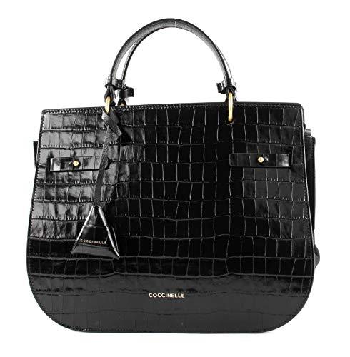Coccinelle Didi Croco Handtasche schwarz