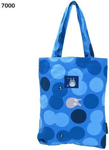 Marushin My Neighbor Totoro Canvas Tote/Polka dot 7000[Blue] Totoro Studio Ghibli from Japan