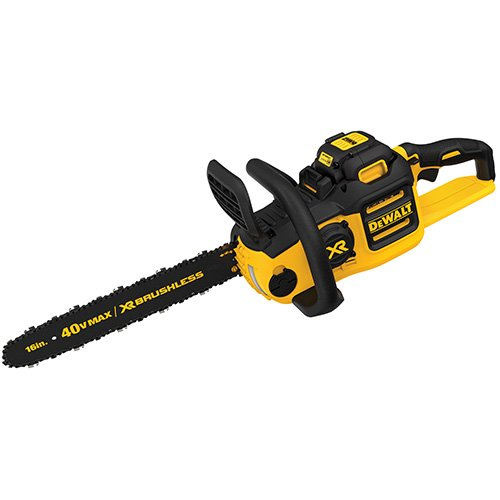 DEWALT 40V MAX XR Chainsaw, 4-Ah Battery, 16-Inch (DCCS690M1)