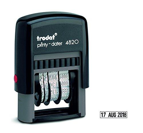 70 x 25mm MAX 7 RIGHI Shiny S-845 Custom-Made Self-Inking Stamp