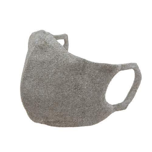 ミツフジの100回洗える夏マスクhamon AGマスク グレー 高機能 マスク 銀の抗菌防臭 日本製 暑くない 肌に優しい 極上のフィット感 耳が痛くならない 男女兼用 メーク移りが目立ちにくい プレゼントに最適 受験生に最適