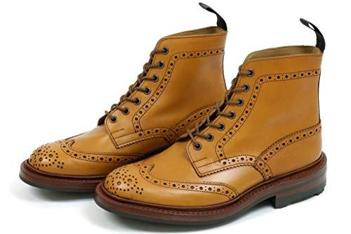 [トリッカーズ] カントリー ブローグブーツ エイコーン アンティーク リッジウェイソール m5634 Brogue Boots Acorn Antique (8 1/2(27.0cm))