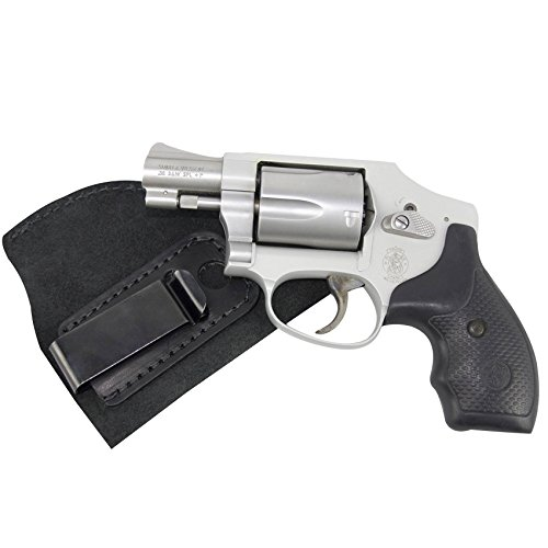 Relentless Tactical The Ultimate Suede Leather IWB Holster - Made in USA - Right Handed - Fits Most J Frame Revolvers - Ruger LCR - Smith & Wesson Body Guard - Taurus & Most .38 Special Type Guns