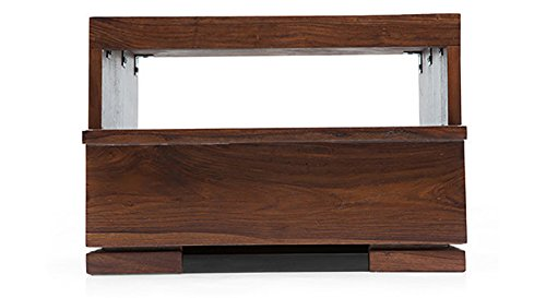 Urban Ladder Ohio Bedside Table (Finish : Teak)