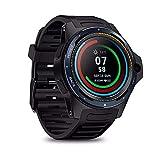 Sistema Dual Smartwatch 4G LTE Dual-Chip Pulsera Inteligente 1.39 'AOMLED Pantalla Pulsera 8.0MP Cámara Frontal 2GB +16 GB Híbrido GPS / GLONASS / Beidou Sports rastreador de Ejercicios