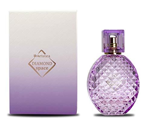Aristea - Parfum Damen Diamond Space, Eau de Parfum, orientalisch-holzig Parfüm für Frauen mit unvergesslichem Duft (1 x 60 ml)