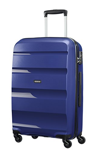 American Tourister Bon Air Spinner Valise, 66 cm, 57,5 L, Bleu (Midnight Navy)