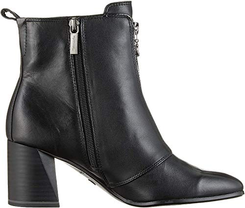 Tamaris Damen 1-1-25967-33 003 Stiefeletten, Schwarz (Black Leather), 38 EU