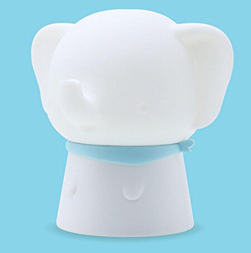 SASA AIYI,Piccolo Elefante Touch Luci emozionali Luce Notturna di Carica USB Luce Creativa del sensore da toeletta, 3