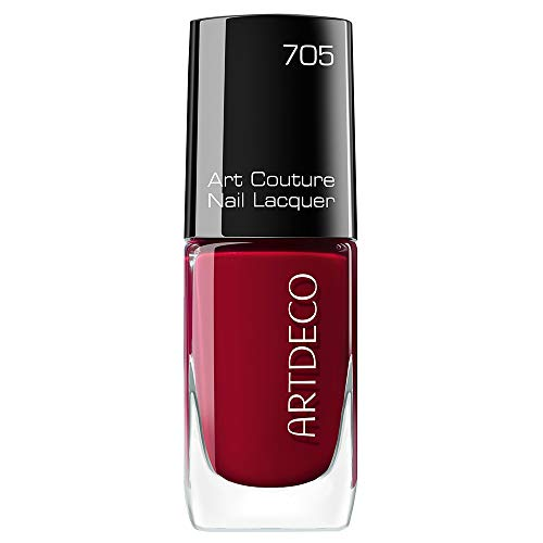 ARTDECO Art Couture Nail Lacquer, Nagellack rot, Nr. 705, berry