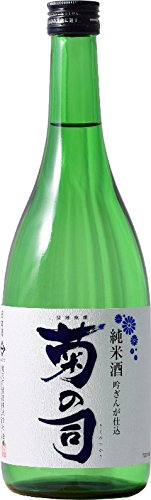 岩手,菊の司(特別)純米酒吟ぎんが仕込(720ml(四合)瓶)