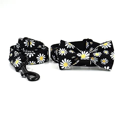ZZCR Collar De Perro Mascota Juego De Cuerdas De Tracción Collar De Hebilla De Collar Suave De Seguridad En Forma De Perro De Varios Tamaños B M