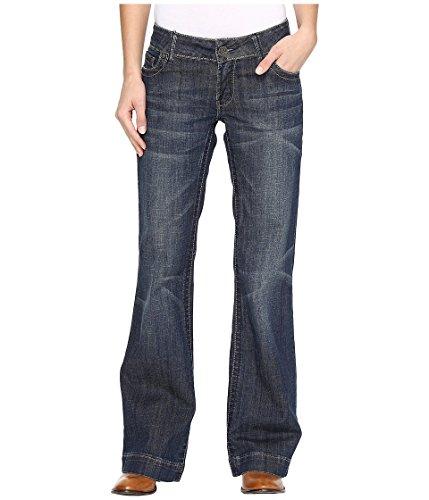 Stetson Denim Trouser S on Back Pocket Blue 2