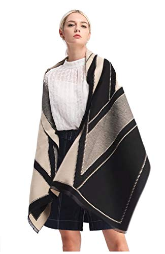 Winter Scarf Scarfs For Women, Cashmere Like Blanket Scarf Pashmina Shawls And Wraps Scarves (Abstract)