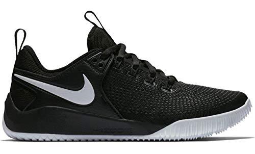 Nike Scarpa Volley Air Zoom HYPERACE 2 Uomo (40.5 EU, 001 Nero - Bianco)