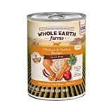 Whole Earth Farms Grain Free All Breed –Adult Canned Wet Dog Food (Case of 12)