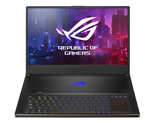 "ASUS ROG Zephyrus S17 GX701LXS-HG057T, Notebook Monitor 17,3"" FHD Anti-Glare 300Hz, Intel Core i7-10875H, RAM 32GB GDDR6, NVIDIA GeForce RTX 2080 S con 8GB GDDR6, 1TB SSD PCIE, Windows10 Home, Nero"
