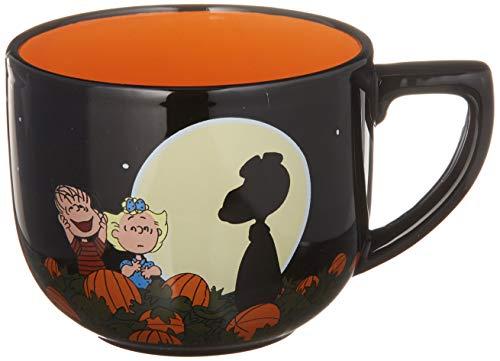 Hallmark 6MJN1510 Oversized Peanuts Mug, Large, Full Moon Snoopy