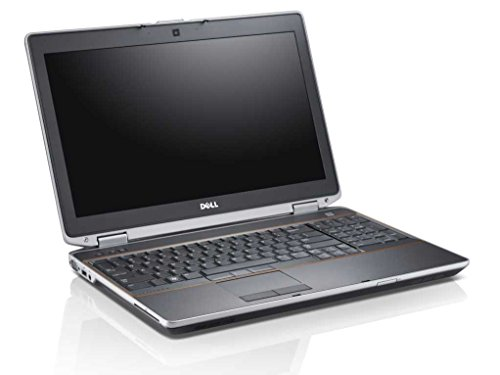 DELL Latitude E6520 – PC portátil – 15,6 – gris (Intel Core i5 2520 M/2.50 GHz, 8 GB de RAM, Disco duro 120 GB SSD, Unidad DVD, webcam, WiFi, Windows 10 profesional)