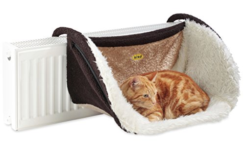 Cleo Small Deluxe Radiator Bed with Washable Zip On...