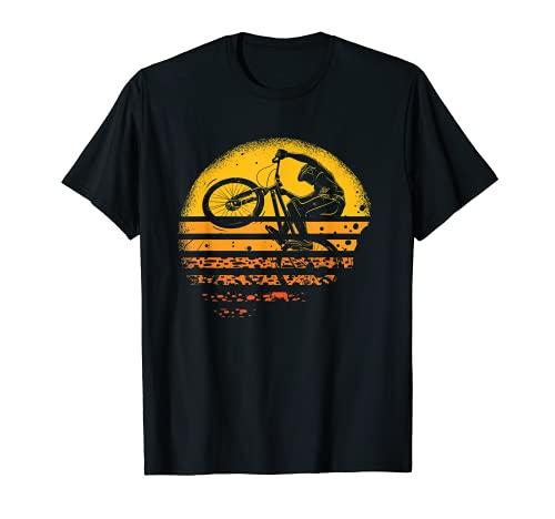 Dirt Jumping Carrera Retro - Vintage Bicicleta Dirt Jumping Camiseta