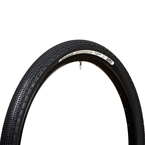 パナレーサー(Panaracer) チューブレスコンパーチブル タイヤ [27.5×1.90] [650B×48] グラベルキング SK F650B48-GKSK-B ブラック ( マウンテンバイク ツーリング車 / グラベル ツーリング ロングライド用