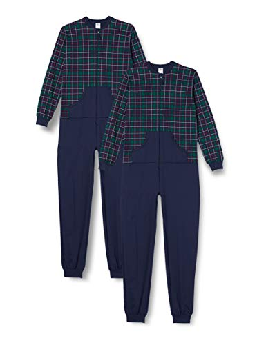 CALIDA Jungen Family & Friends Pyjamaset, Holly Green, 128
