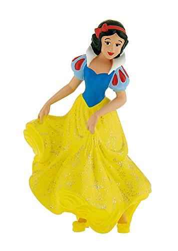Bullyland 12402 - Spielfigur, Walt Disney Schneewittchen, ca. 9,2 cm groß, liebevoll handbemalte Figur, PVC-frei, tolles Geschenk für Jungen und Mädchen zum fantasievollen Spielen