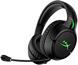 HyperX CloudX Flight – Wireless Gaming Headset, Official Xbox Licensed, Compatible with Xbox One and Xbox Series X S, Game and Chat Mixer, Memory Foam, Detachable Noise-Cancellation Microphone