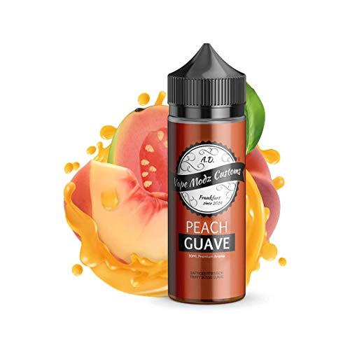 Vape Modz Customs Aromakonzentrat Peach Guave, Shake-and-Vape zum Mischen mit Basisliquid für e-Liquid, 0.0 mg Nikotin, 1er Pack(1 x 30 ml)