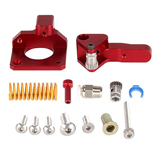 HICTOP Upgrade 3D Printer Kit Aluminum MK8 Feeder Pneumatic Couplers and Bed-level Spring for Creality 3D Printer Ender 3/3Pro CR-10, CR-10S, CR-10 S4, and CR-10S5