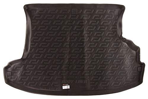 SIXTOL Auto Kofferraumschutz für den Nissan X-Trail I - Maßgeschneiderte antirutsch Kofferraumwanne für den sicheren Transport von Einkauf, Gepäck und Haustier