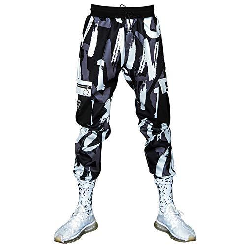 Mangos de carga de hombres Pantalones para hombre Moda Hip Hop Pantalones Pantalones de bolsillo Pantalones casuales Pantalones de jogging Pantalones para hombres Pantalones Jeans Pantalones Pantalone