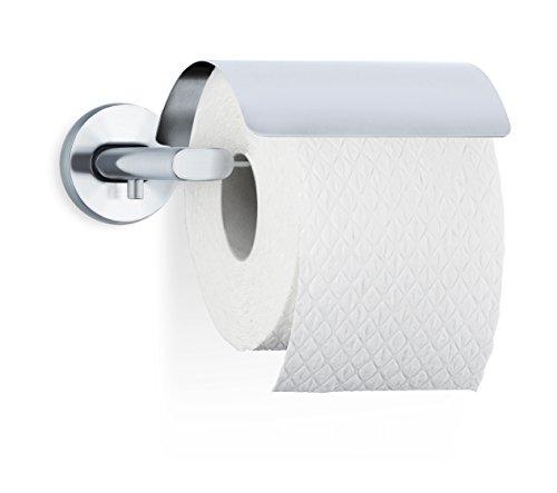 Blomus AREO WC-Rollenhalter, Edelstahl matt, 15.5 x 16.5 x 5.7 cm