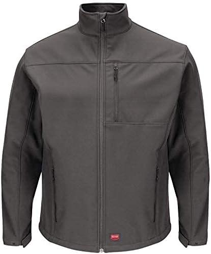 Red Kap Men's Deluxe Soft Shell Jacket