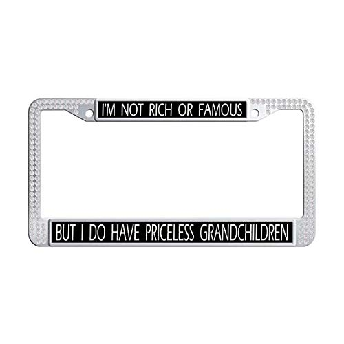 grandchildren license plate frame - 5