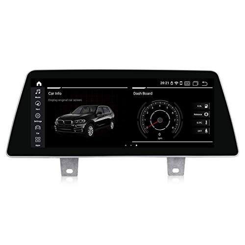 JIBO 10,25' Android 10 Auto Estéreo GPS Navegación Cabeza Unidad para B M W 5 Serie G30 2018 EVO Multimedia Jugador Tocar Pantalla Teléfono Control SWC Auto Radio Video Receptor