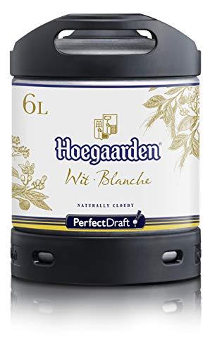 Fût 6L Perfectdraft - 5 euros de consigne inclus - Fût pour tireuse à bière (Hoegaarden Blanche)