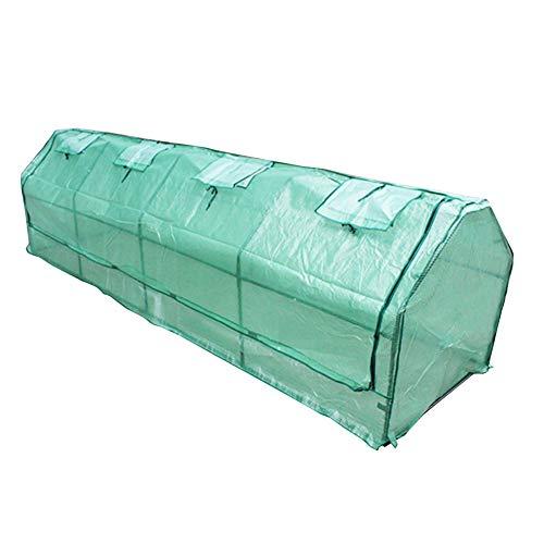 LIANGLIANG-Serre de jardin Plante Chauffée Conservation De La Chaleur Très Grande Taille Résistant À La Pluie Protection Contre Le Froid Couverture en Plastique PE Jardinage