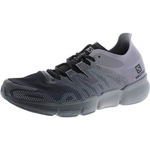 SALOMON Shoes Predict RA, Zapatillas de Running Hombre, Negro (Black/Quiet Shade/Ebony), 49 1/3 EU