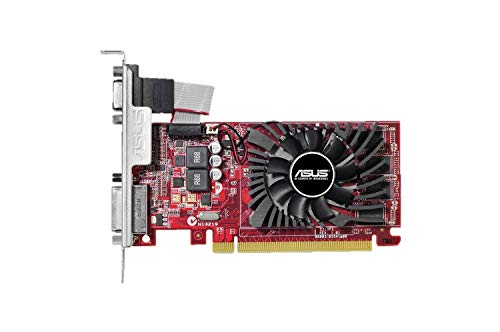 Asus R7240-OC-4GD3-L AMD gaminggrafische kaart (PCIe 3.0 x16, 4 GB DDR3 geheugen, HDMI, DVI)