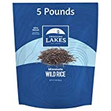 Thousand Lakes Minnesota Grown Wild Rice - Bulk - 5 pounds | 100% Wild Rice | All Natural