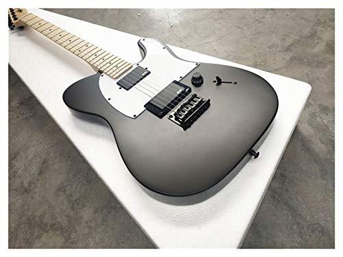 LKSPD QXDZSWB - Guitarra eléctrica con punta negra y tonta,...